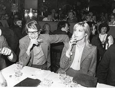 Yves Saint Laurent and Betty Catroux