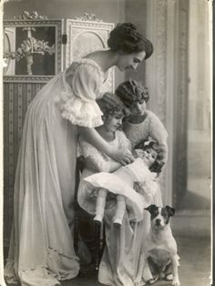 Mother, Daughters, Doll