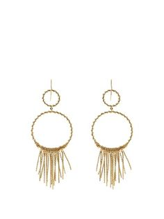 Maria gold-plated earrings   Aurélie Bidermann   MATCHESFASHION.COM US