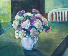 E. Witkowska, Flower, 50x60, oil on canvas, 2011