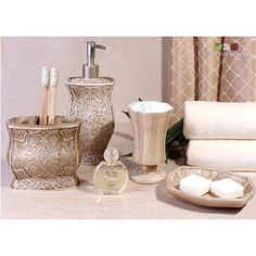Terrence 4-Piece Bathroom Accessory Set