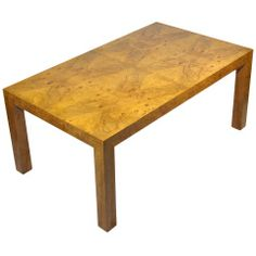 Milo Baughman Dining Table H 28.6 in. W 9 ft. 2 in. D 39 in.