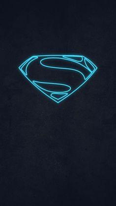 Superman Logo Superman Logo Art, Halloween Decorations Inside, Supergirl Superman, Smallville, Shirt Designs, Neon Signs, Symbols, Dc Universe, Stone