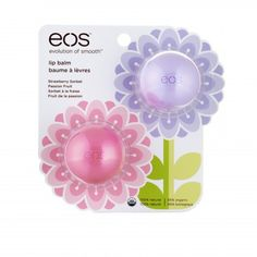 Love these! eos Smooth Sphere Lip Balm Spring Pack with Limited Edition Passion Fruit