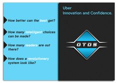 #Uber #Inovation and #Confidence