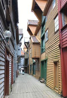 Bergen alleyways