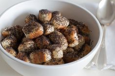 bake your slovak roots: Christmas Eve Bobalky (Opekance) with Poppy Seeds