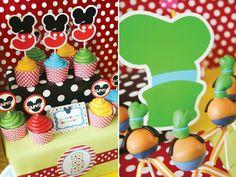 Goofy cake pops