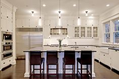 Traditional Home White Kitchen Cabinets Design, Pictures, Remodel, Decor and Ideas - page 11