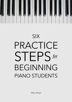 Six Practice Steps for Beginning Piano Students - how to teach beginning piano students, how to teach students how to practice, practice steps, beginning piano lessons, Music Tree series Piano Lessons For Kids, Piano Lessons For Beginners, Music Lessons, Beginner Piano Songs, Piano Music For Kids, Teach Yourself Piano, How To Learn Piano, Piano Teaching, Learning Piano