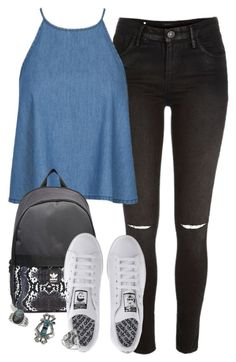 """Untitled #1348"" by littlemixmakeup ❤ liked on Polyvore featuring River Island, adidas and Topshop"