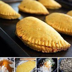 Queridos! Fazemos Patties jamaicano com multiplas opcoes de recheio!!! Aceitamos encomendas!!!! Sistahjamaicanfood@gmail.com.  #culinariajamaicana #jamaicanfood  #food  #comida  #fome #errejota  #gastronomia  #culinaria by sistahjamaicanfood