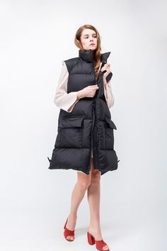 Fashionable design down jacket for women MARCHI #downcoat #fillpower750 #marchi #storemarchi