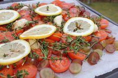 #Langtidsbagte #vindruer og #tomater - mums