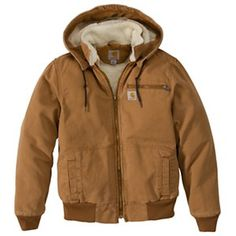 Carhartt Weathered Wildwood Jacket for Ladies – Carhartt Brown – L – Work Fashion Work Jackets, Jackets For Women, Clothes For Women, Carhartt Work Jacket, Womens Carhartt Coat, Outfits With Hats, Cute Outfits, Country Style Outfits, Hiking Jacket