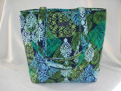 NWT Vera Bradley Tote Bag in caribbean sea Vera Bradley Tote Bags, Caribbean Sea, Shoulder Bag, Shoulder Bags