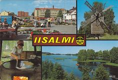 Kuva: IISALMI 1984 Teenage Years, Back In Time, Old Toys, Vintage Postcards, Finland, Nostalgia, Old Things, Album, History