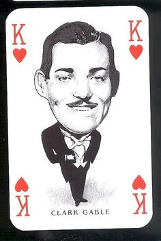 Other Movie Memorabilia Playing Cards Art, Vintage Playing Cards, Vintage Cards, Play Your Cards Right, Old Movie Posters, Hooray For Hollywood, Clark Gable, Great Films, Football Cards