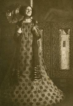 Emilie Floge by Hans Bohler, 1910.