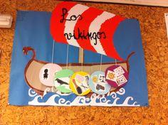 Trabajo realizado por unas compañeras de clase que me puede servir para explicar a los alumnos la cultura vikinga