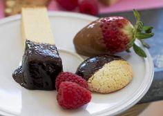Recipe: Chocolate-mango and five-spice caramel fondue