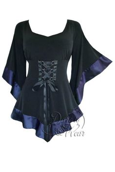 2bfb33a6eb9 Dare To Wear Victorian Gothic Boho Womens Plus Size Treasure Corset Top in  Plum