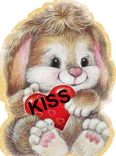 Cute I Love You Bunny girly cute heart gifs i love you i love you gifs I Love You Pictures, Beautiful Love Pictures, Love You Images, Beautiful Gif, Cute Pictures, Beautiful Women, Cute I Love You, Love You Gif, Cute Love Gif