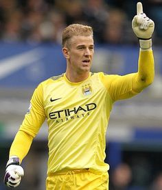 Joe hart being awesome