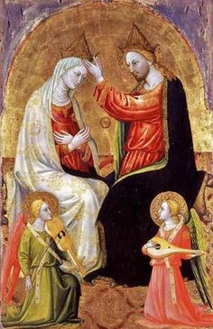 Bicci Di Lorenzo (1375-1452) Coronation of the Virgin, Santa Maria Assunta, Pescia