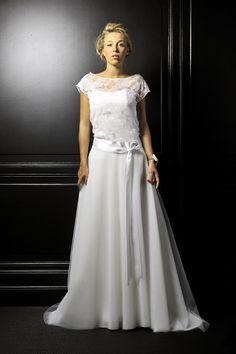 Robe de mariée créateur - LEUTELLIER TESSON COUTURE