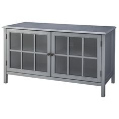 Windham Media Cabinet Stands Living Room Media Center Blue or Gray My Living Room, Living Room Furniture, Home Furniture, Furniture Ideas, Furniture Storage, Painted Furniture, Media Furniture, Hardwood Furniture, Console Storage