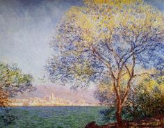 Antibes in the Morning Claude Oscar Monet - 1888 http://www.the-athenaeum.org/art/full.php?ID=3565
