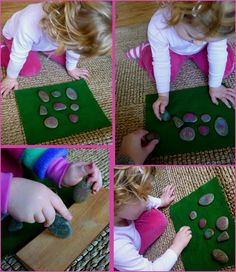 Nature Play: Story Stones-- Such a cute idea.  Good at Playcentre