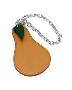 HERMES Charm Made of 925 Two Tone Leather CharmWomen #Jewelry