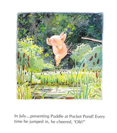 Puddle jumped into Pocket Pond - Toot & Puddle, 1987