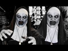 The Conjuring 2 Valak - Makeup Tutorial! - YouTube