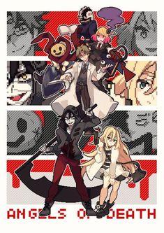 "Anime""sss picture :)) - Chủ đề 4 Angel of death - Wattpad Angel Of Death, Chica Anime Manga, Anime Art, Satsuriku No Tenshi, Rpg Horror Games, Anime Angel, Pixel Art, Fanart, Comics"