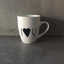 Kubek I love you, welov I Love You, My Love, Mugs, Tableware, Design, Te Amo, Dinnerware, Je T'aime, Tumblers