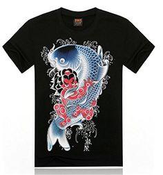 Black Cotton 3D Print Pattern Animal Evil Skull Carp Shirt T-Shirt Men's Qiyun http://www.amazon.co.uk/dp/B00NSGTJFK/ref=cm_sw_r_pi_dp_3KHrvb02ZPPTC