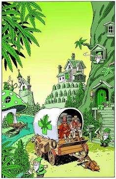 In A Perfect World, We'd Live In A Cannabis World.♡