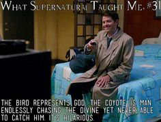 What Supernatural has taught me 31 | Submitted by: allegedlyolivia