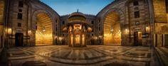 Sultan Hassan Mosque Courtyard (Cairo, Egypt)