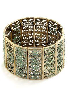 Ornamental Connection Bracelet | Mod Retro Vintage Dresses | ModCloth.com