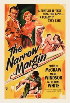 THE NARROW MARGIN Movie Poster Classic by EncorePrintSociety