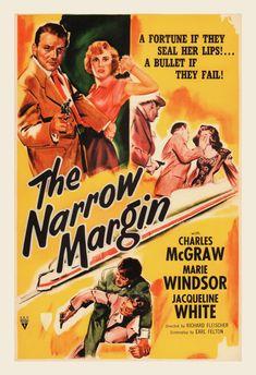 THE NARROW MARGIN Movie Poster Classic by EncorePrintSociety