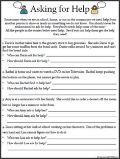 Empowered By THEM: Life Skills Worksheets | school | Pinterest ...