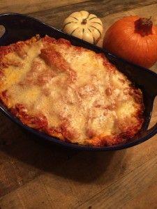 Pumpkin Kale Lasagna | Confessions of a Mother Runner