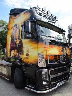 LUGRAS – Sbírky – Google+ Truck Paint, Show Trucks, Volvo Trucks, Bike, Vehicles, Google, Bicycle, Bicycles, Cars
