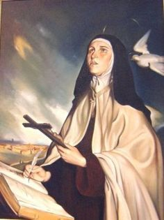 St. Teresa of Avila, Patron Saint of headache sufferers. #migraine #spoonie