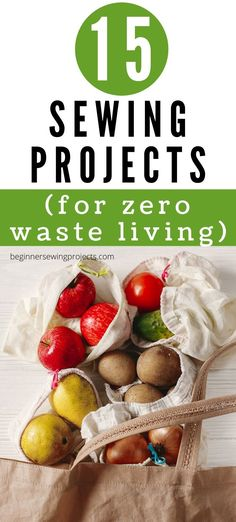 Sewing Projects For Beginners, Sewing Tutorials, Sustainable Living, Sustainable Food, Eco Friendly House, Natural Cleaning Products, Craft Sale, Zero Waste, Teamwork Quotes